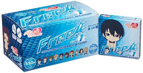 Free!(フリー) ぺたん娘トレーディングラバーストラップ Vol.1 BOX