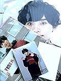 Kis-My-Ft2 【(藤ヶ谷太輔)ジャンボうちわ+クリアファイル+オリジナルフォトセット】LIVE TOUR 2019 FREE HUGS! + 公式写真 1種 セット