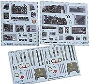 クインタスタジオ 1/48 マクドネル・エアクラフト F-4B ファントム2 内装3Dデカール (タミヤ用) プラモデル用デカール QNTD48175