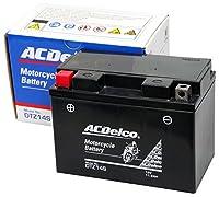 ACDelco [ エーシーデルコ ] シールド型 バイク用バッテリー [ 液入充電済 ] DTZ14S