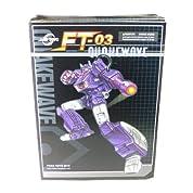 トランスフォーマー FansToys FT-03 QUAKE WAVE クエイクウェーブ Shockwave ショックウェーブ レーザーウェーブ