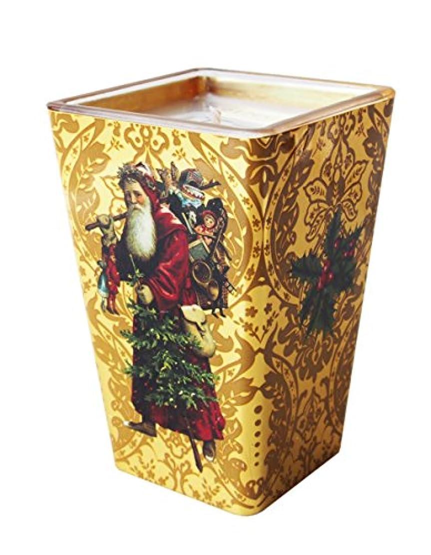 宴会生息地通訳FRINGE STUDIO 【クリスマス】 アロマ キャンドル (ゴールド×サンタクロース) F412170