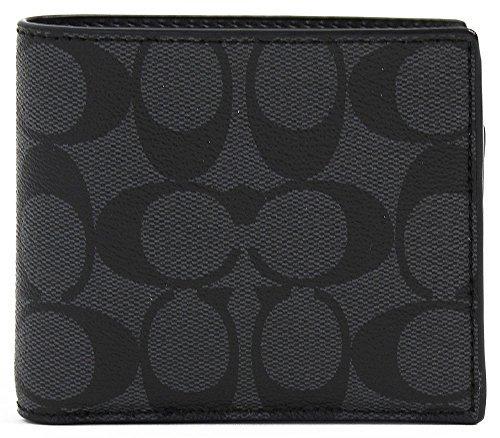 [コーチ]COACH コーチアウトレット二つ折り財布 メンズ...