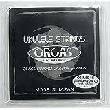 【ORCAS】 ウクレレ弦 セット ソプラノ コンサート用 (ミディアムゲージ Low-G)OS-MED LG
