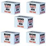 パックの5Ilford xp-2Super 400135–36ブラック&ホワイトFilm