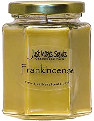 Frankincense香りつきBlended Soy Candle by Just Makes Scents