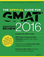 The Official Guide for GMAT Quantitative Review 2016 with Online Question Bank and Exclusive Video [Paperback] GMAC