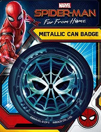 スパイダーマン・ファー・フロム・ホーム/メタリック缶バッジ IBA148