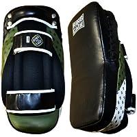 Ultima MIM Foamレザーカーブタイパッド、MMA、タイ式、用Kickboxing