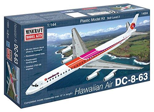 1/144 DC-8-63 ハワイアン航空