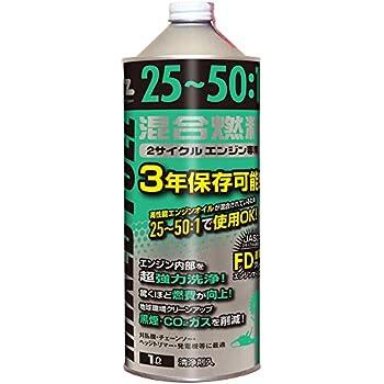 AZ(エーゼット)  25:1混合燃料 [緑] 1L (混合油・混合ガソリン・ガソリンミックス・ミックスガソリン) FG006