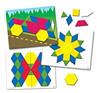 Learning Resources Magnetic Pattern Block Activity Set