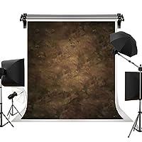 Kate 3x6m 茶色の背景布 ダークブラウンの背景 グラデーションの背景 ブラウンの背景 ビンテージ背景 ポートレート写真の背景 写真スタジオ 撮影用 背景布 写真撮影用の背景幕 装飾用 無反射布 スエードの背景 カスタマイズ可能な背景