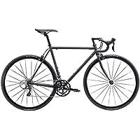 FUJI(フジ) BALLAD OMEGA 56cm 2x9speed MATTE BLACK ロードバイク 2018年モデル 18BLDOBK MATTE BLACK 56cm