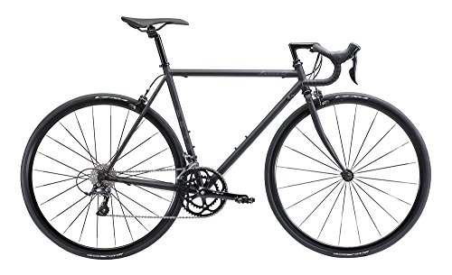 FUJI(フジ) BALLAD OMEGA 52cm 2x9speed MATTE BLACK ロードバイク 2018年モデル 18BLDOBK MATTE BLACK 52cm
