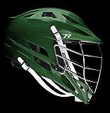 カスケードRラクロスヘルメットW/ブラックマスク グリーン