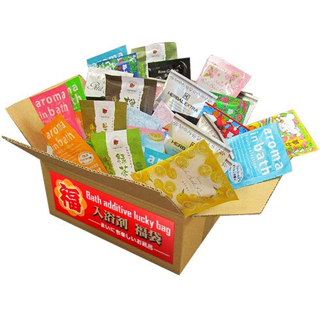 呼吸関連する矛盾日本製 入浴剤 福袋 おたのしみ おまかせ100個セット