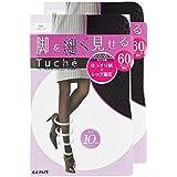 (グンゼ)GUNZE タイツ Tuche トゥシェ 脚を細く見せる ダイヤ 60デニール 2足組