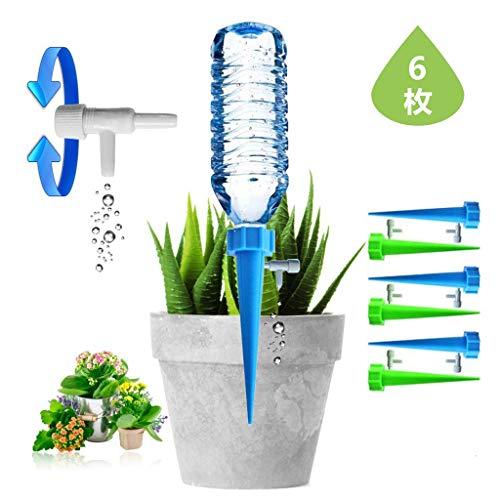 自動給水キャップ 水やり当番 じょうろ 自動水やり器 自動給水器 水遣り機 自動散水システム リサイクル ガーデニング 園芸 植物 盆栽 野菜 留守用に