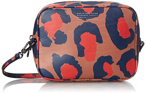 Marc by Marc Jacobs マーク バイ マークジェイコブ ショルダーバッグ バック バック レディース Sophisticato Printed Leopard Camera Cross-Body Bag (Arizona Clay Multi)
