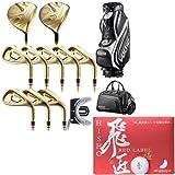 カタナ ゴルフ(KATANA GOLF) ヴォルティオ4/VOLTIO IV メンズゴルフ ゴールドセットR&飛匠ボール1ダース(12球入り) 2点セット