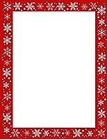 クリスマス雪Designer用紙–50シートパッケージ