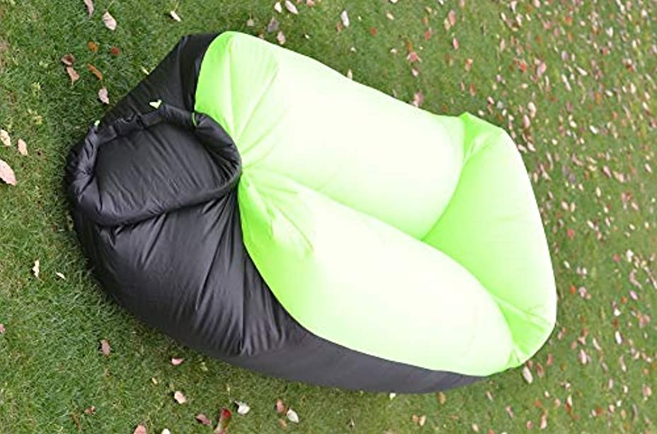 トレンド屋外キャンプ高速インフレータブル空気ソファベッド超軽量寝袋怠zyなバッグビーチソファレイバッグラウンジチェア,D