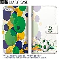chatte noir Galaxy S6 edge ケース Galaxy S6 edge カバー ギャラクシー S6 edge ケース 手帳型 おしゃれ サッカー サッカーボール ブラジル 部活 かっこいい B 手帳ケース SUMSUNG