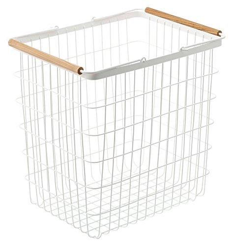 RoomClip商品情報 - 山崎実業 洗濯かご ランドリーバスケット トスカ L ホワイト 2810