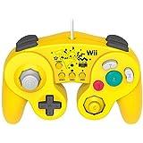 Classic Controller for Wii U Pikachu (benefits Wii remote control sheet (Pikachu) included) by Hori [並行輸入品]