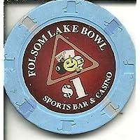 $ 1 Folsom湖ボウルスポーツバーカジノチップ