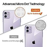 iwtbrich iPhone 11 ケース 薄型 透明TPU シリコン ケース 6.1インチ 專用スマホケース 耐衝撃カバー Qi充電対応 指紋防止 画像