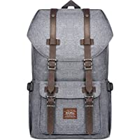 """Laptop Outdoor Backpack, Travel Hiking& Camping Rucksack Pack, Casual Large College School Daypack, Shoulder Book Bags Back Fits 15"""" Laptop & Tablets by Kaukko"""