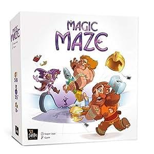 マジックメイズ(MAGIC MAZE)日本語版/へムズユニバーサルゲームズ/Kasper Lapp