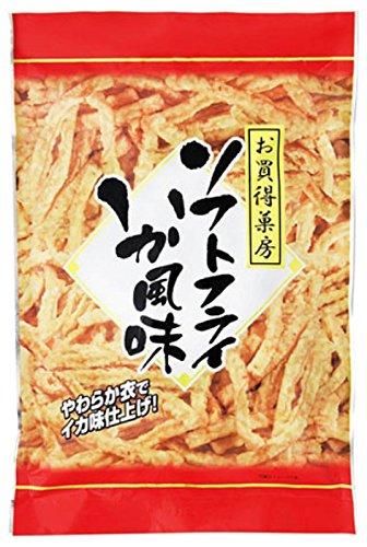 日本橋菓房 お買得菓房 ソフトフライいか風味 袋180g