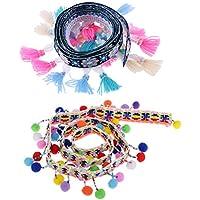 D DOLITY ボールリボン タッセルリボン ふわふわ 縫製装飾 高品質 キュート DIY装飾 美しい 手芸用品