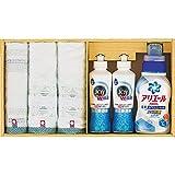 快気祝い 人気商品 P&G洗剤X今治タオル ギフト セット (PGT-35-3780)