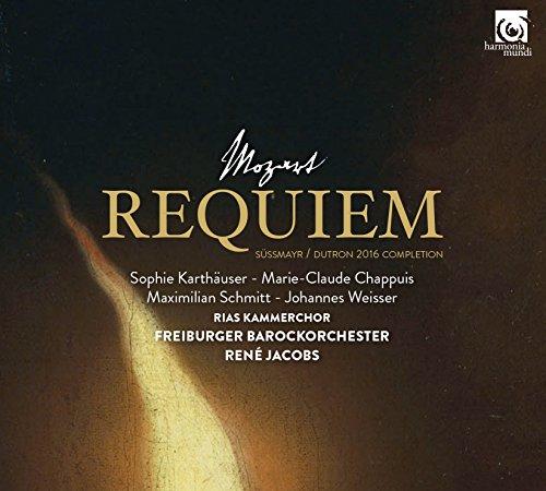 モーツァルト : レクイエム (Mozart : Requiem ~ Sussmayr - Durton 2016 Completion / RIAS Kammerchor | Freiburger Barockorchester | Rene Jacobs) [CD] [輸入盤] [日本語帯・解説付]
