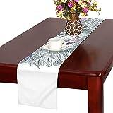 GGSXD テーブルランナー すばしこい 羊 クロス 食卓カバー 麻綿製 欧米 おしゃれ 16 Inch X 72 Inch (40cm X 182cm) キッチン ダイニング ホーム デコレーション モダン リビング 洗える