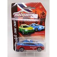 タイのタクシー車blue-redモデルトヨタカローラAltis Majorette DieCast Limited