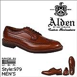 (オールデン)ALDEN 靴 LONG WING BLUCHER ウイングチップ シューズ 979 Dワイズ (並行輸入品)