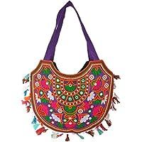 Women's 手芸 バッグ Rajasthani Handicraft Shoulder Bag, HCHB006