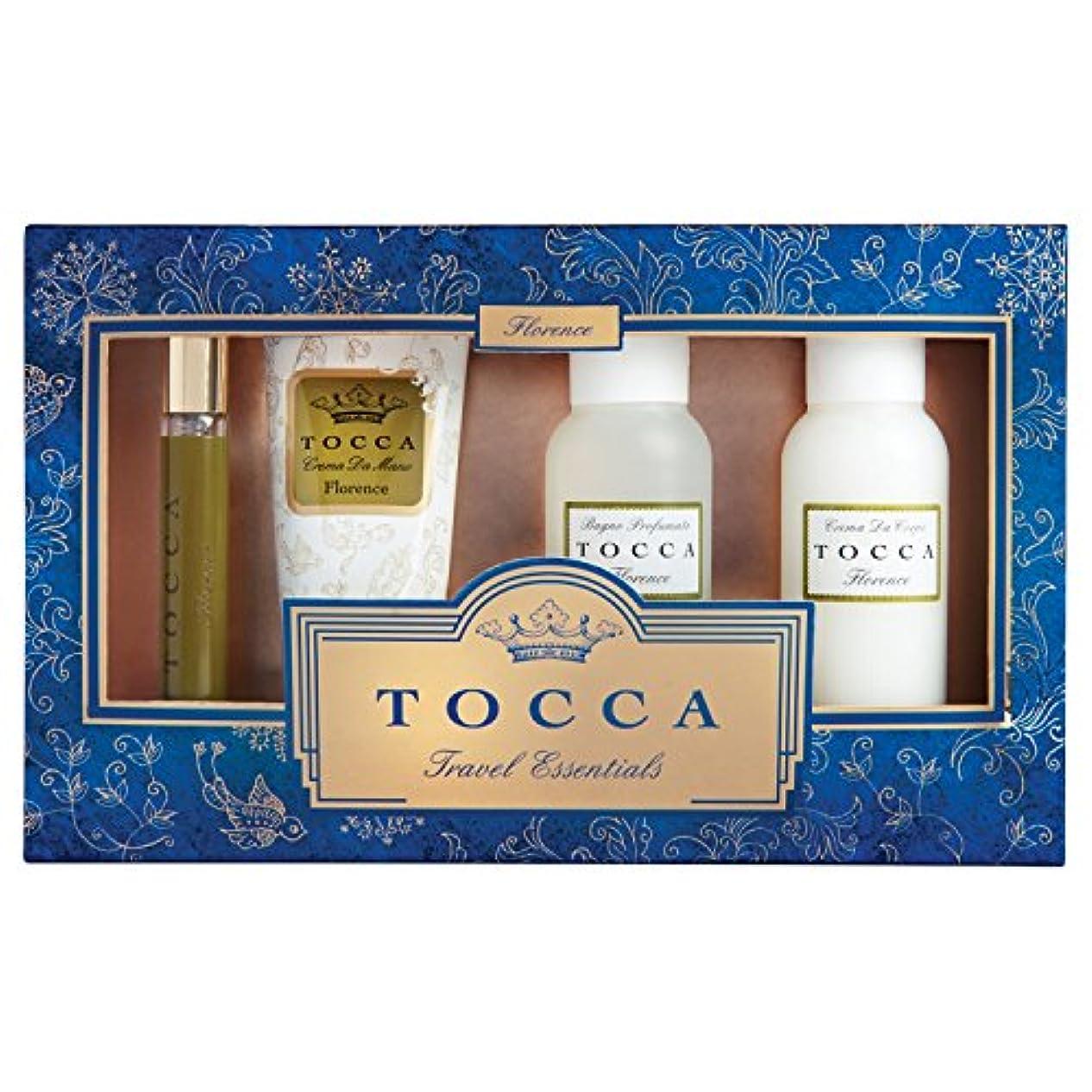 カニ失礼な生き残りトッカ(TOCCA) トラベルエッセンシャルズセットギルディッド フローレンスの香り (限定コフレ?ギフト)