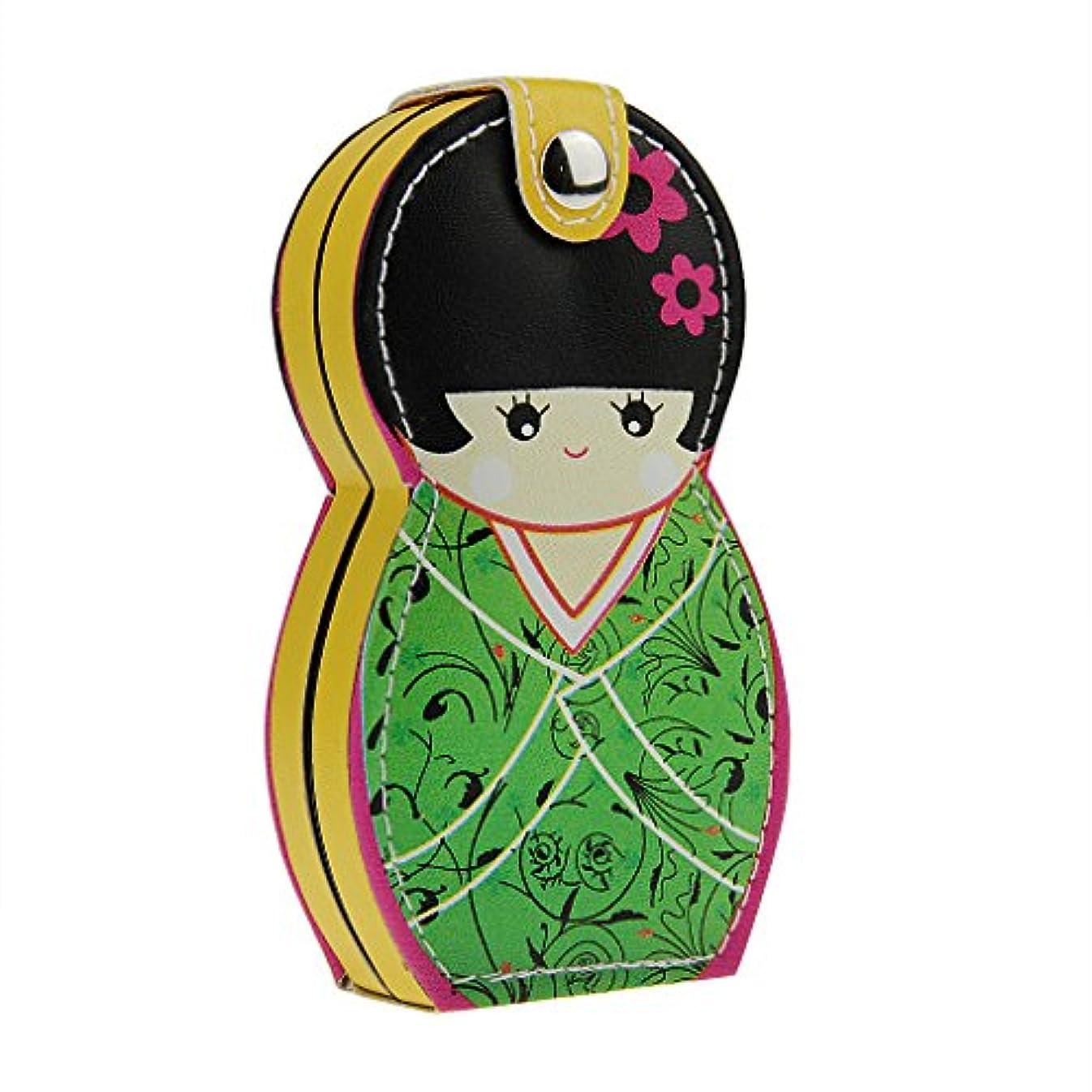 エキスパート最小サラミ爪切り ニッパー 爪切りセット ステンレス製 かわいい 日本人形 着物こけし 足用ニッパー 多機能はさみ ネイルケア 収納ケース付き 握りやすい 飛びにくい ギフト向け 携帯便利 旅行用 家庭用 贈り物 ガールズ レディース 6点セット
