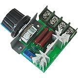 SODIAL(R)2000W電圧レギュレータ 調光ライト スピード温度監視