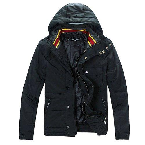 (ハイドロゲン)HYDROGEN メンズ アウター コート ジャケット (L, ブラック)