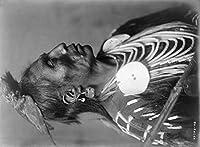 Crowモンタナ州からIndian Native American Curtis写真 12 x 18 Art Print LANT-2950-12x18