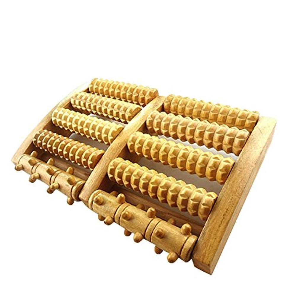 検出する新しい意味運営足裏マッサージ フットマッサージ器 木製 足裏ローラー フットマッサージャー 足裏 ツボ刺激 リラックス ストレス解消 ツボ押し フットマッサージャーローラー