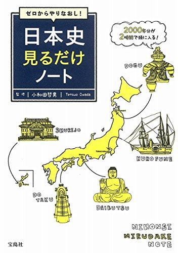 ゼロからやりなおし! 日本史見るだけノートの詳細を見る