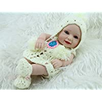 Nicery 生まれ変わった赤ちゃん人形おもちゃハードシミュレーションシリコンビニール11インチ28cm防水おもちゃとギフト Reborn Baby Doll RD28B006G